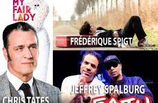 Chris Tates, Frédérique Spigt en Jeffrey Spalburg