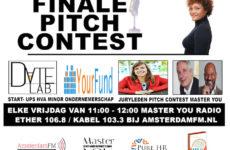 Pitchcontest finale bij AmsterdamFM
