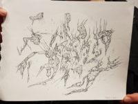 Kunstenaar in de studio: Hizkia Pepijn