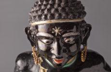 Zeldzaam famille noire beeld in het Scheepvaartmuseum