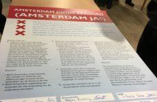 Het Amsterdams Joods Akkoord, getekend door de meeste grote politieke partijen voor de gemeenteraadsverkiezingen