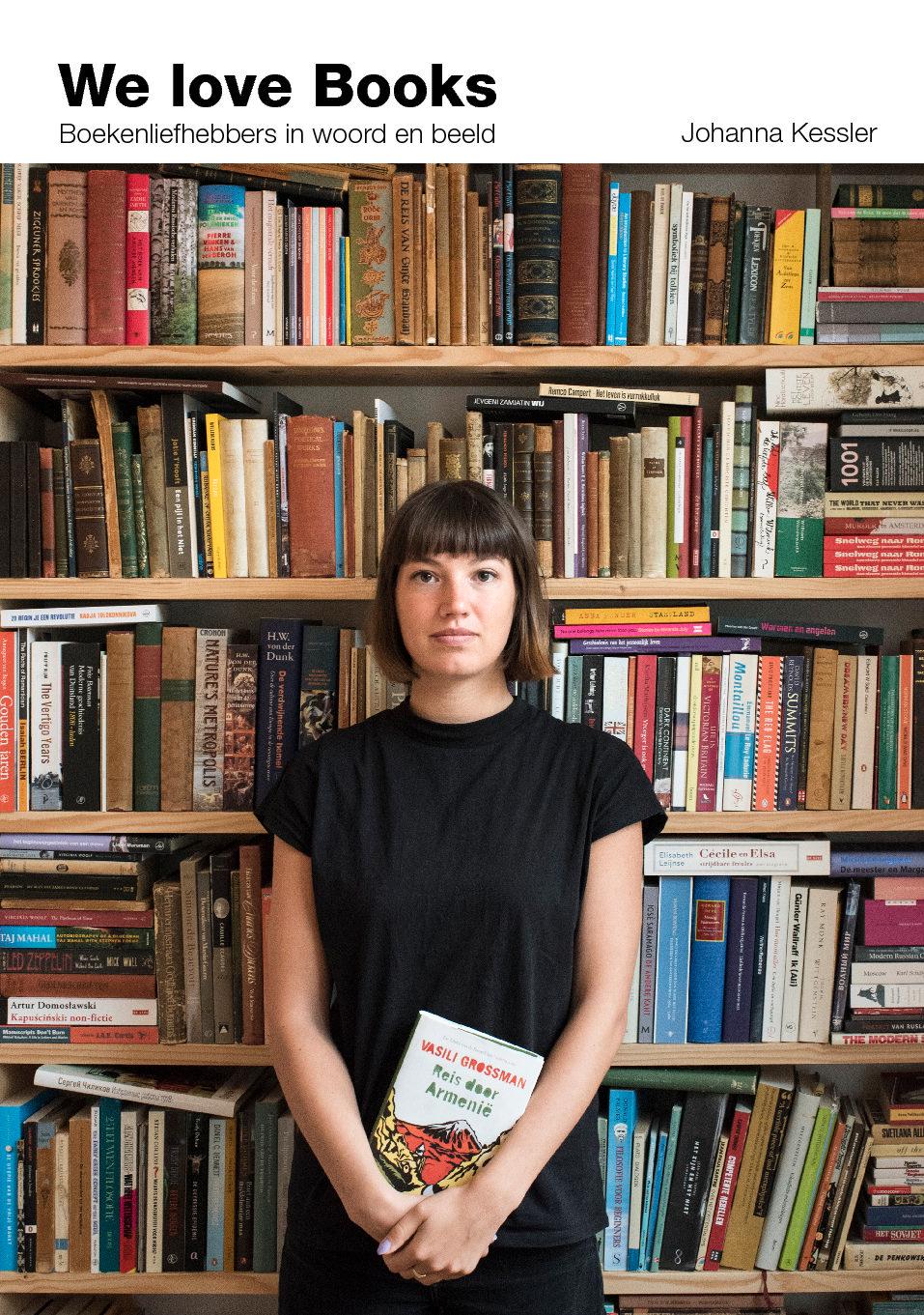 We love Books- Boekenliefde in beeld gebracht door Johanna Kessler