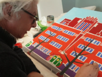 Kunstenaar in de studio: Bert Wouters