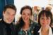Frédérique Sluyterman van Loo ontvangt Josee Koning en Sjors van der Panne