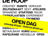 De Hoop —  Open dag : 160 nieuwe ateliers