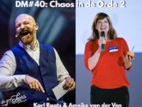 DM#40 Live @Chaos in de Orde 2: Karl Raats en Ameike van der Ven + BONUSopdracht!