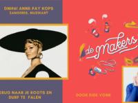 DM#62 Terug naar je wortels, falen, en muziekzaken zelf regelen met zangeres Anne-Fay
