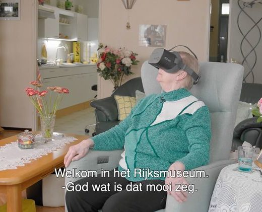 Ouderen virtueel door het Rijksmuseum