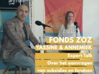 DM#96 Expert talk met Fonds ZOZ: Alles wat je moet weten over Fondsen & Subsidies aanvragen!